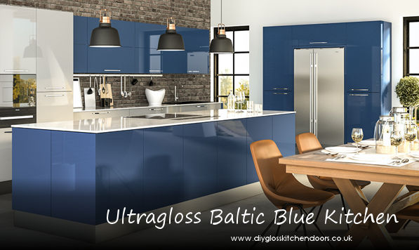 Zurfiz Baltic Blue Kitchen Doors Diy Kitchens Doors
